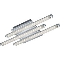 3 bulb LED ceiling lamp Street with crystal effect