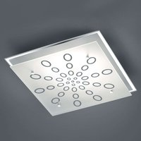 Dukat LED ceiling light  dimmable via wall switch