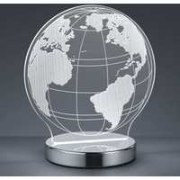 With 3D effect   Globe LED table lamp  adjustable