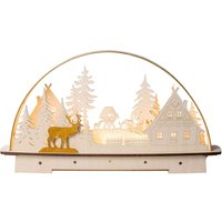 Forest House LED candle arch  battery powered