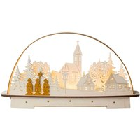Carol Singer LED candle arch  battery powered
