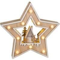 Country Style LED Christmas star