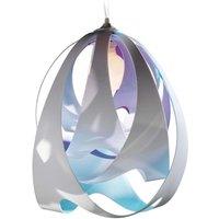 Modern GOCCIA DI LUCE hanging light  blue violet