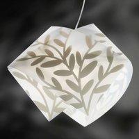 Attractive GEMMY DAFNE hanging light  white