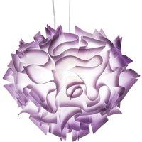 Amazing VELI hanging light  60 cm plum
