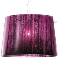 Beautiful gradient   Woody hanging light  purple