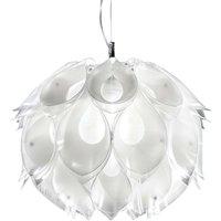 Natural Flora S hanging light  white