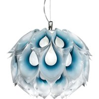 Attractive Flora S hanging light  blue