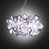 Fantastic Clizia hanging light  purple