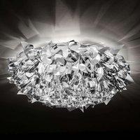 78cm diameter   Veli Large ceiling light in silver