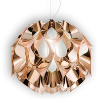 Flora   wonderful hanging light in copper