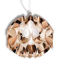 Copper coloured Flora hanging light  36 cm