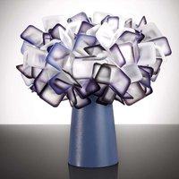 Extravagant Clizia table lamp  plum