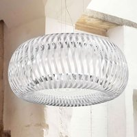 Slamp Kalatos hanging light  transparent white