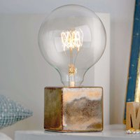 Refined table lamp Helsinki  antique bronze