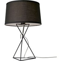 Black fabric table lamp New York