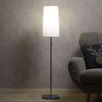Height adjustable fabric floor lamp Verona