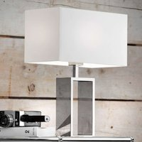 Fabric table lamp Shanghai  stainless steel