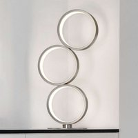 Loop LED table lamp with three rings  dimmable