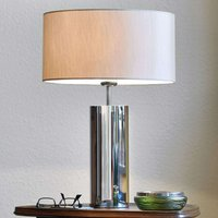 Puristic table lamp Prague  round