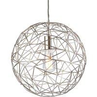 Metal hanging light Cage
