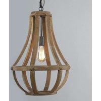 Wooden pendant light Liberty Bell