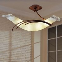 ROMA designer ceiling light 30 copper red