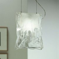 One bulb MURANO hanging light