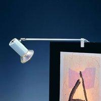Standard clip on spotlight GRIP  white