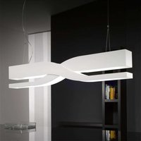 Fifi   white designer hanging light  60 cm
