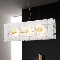 Elegant hanging light Frame  76 cm