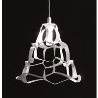 White hanging light Anais  30 cm