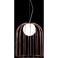 Copper lampshade   designer pendant lamp Kluvi