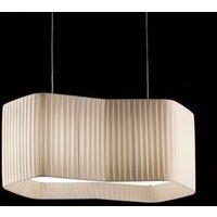 Fabric designer hanging lamp Calliope