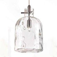 Designer pendant lamp Bossa Nova transparent
