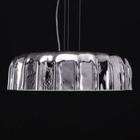 Silver coloured hanging light Big Cap