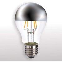 E27 4W 827 LED half mirror globe lamp