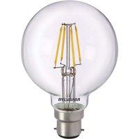 B22 5W 827 LED globe bulb  clear