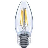 E27 4 W 827 LED candle bulb  clear