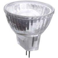 GU4 MR11 2W LED reflector bulb with lens