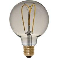 E27 4 W 922 LED globe G125 Curved Line gold