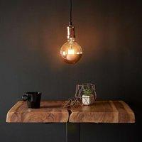 Copper coloured LED hanging light Chicago