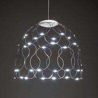 Lady Lamoi LED pendant light in chrome