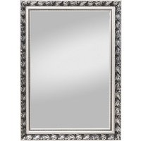 Mirror PIUS with wood frame silver