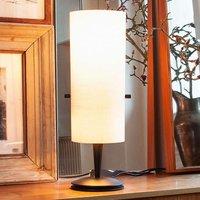 Club   classic designer table lamp made of chintz