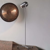 Pan Am   a designer LED floor lamp on wheels