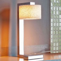 Designer LED table lamp Reef made of ceramic foam