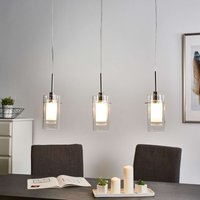 3 light decorative pendant lamp Duo 1