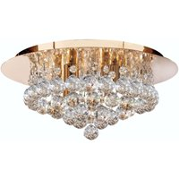 Hanna ceiling light  35 cm  clear