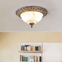Teresa ceiling light with a decorative edge